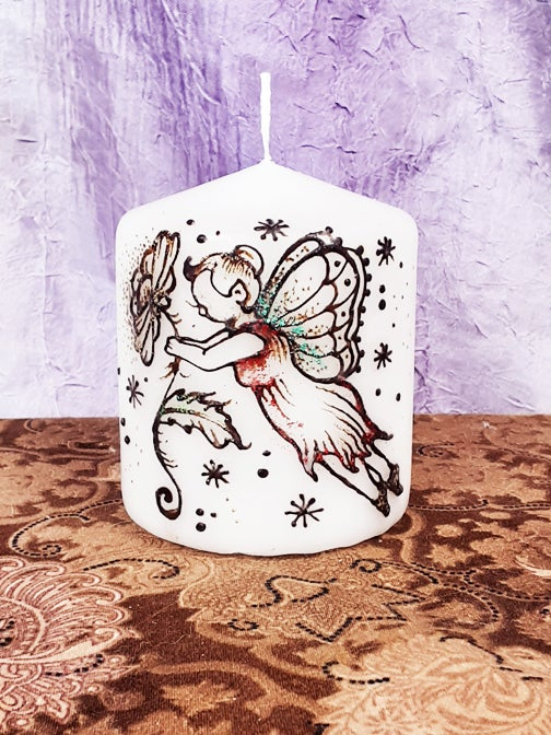 Image of 3 x 3 Fairy Henna Candle