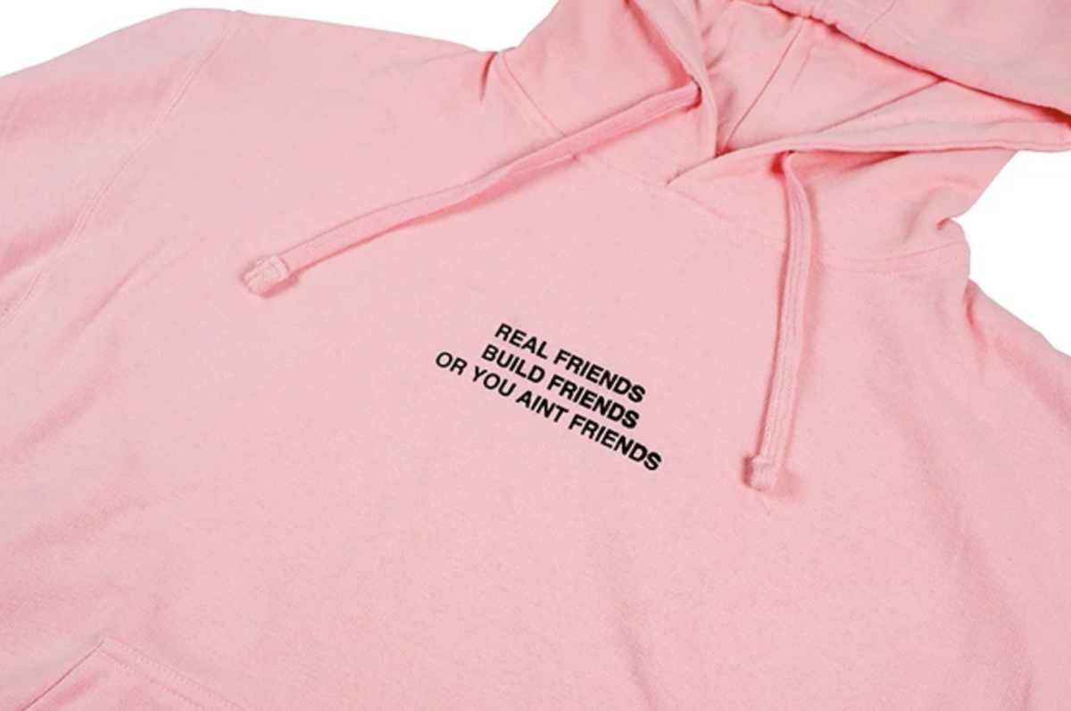 REAL FRIENDS BUILD FRIENDS HOODIE