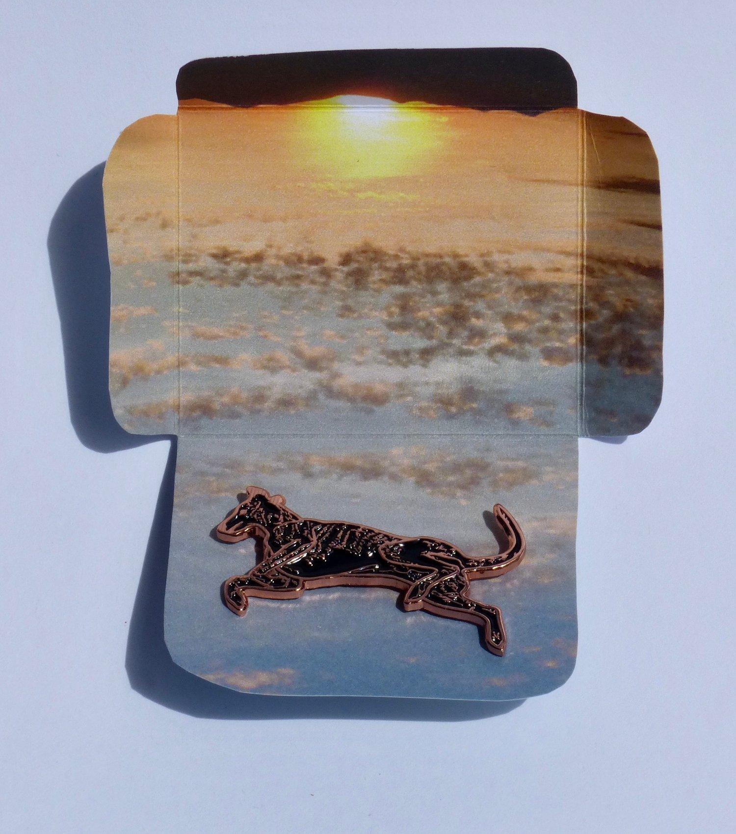 Image of Flying Dog Enamel Pin