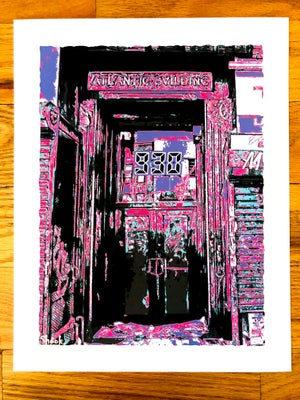 "Image of Nightclub 9:30 Doorway Giclée Art Print - 11"" x 14"""