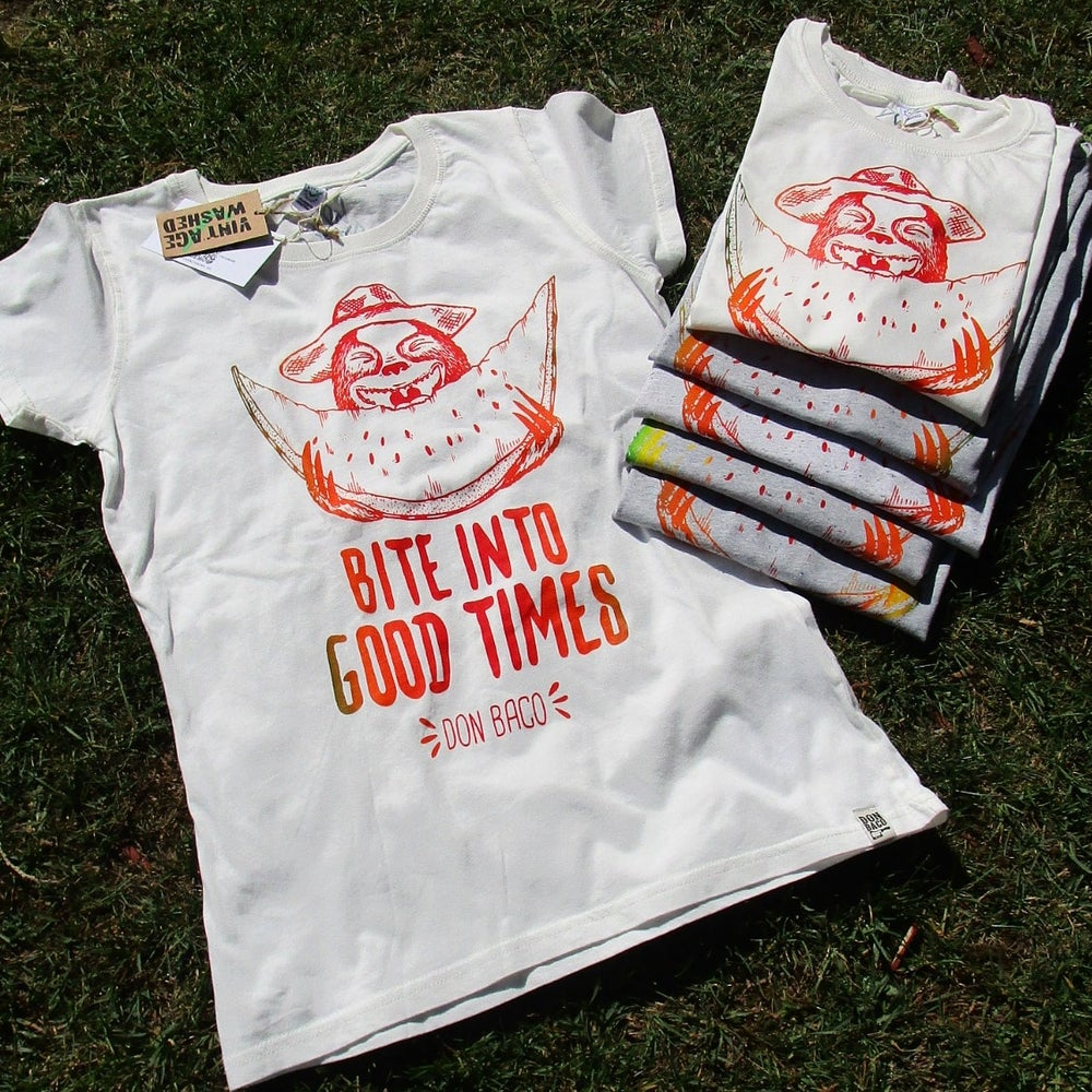 Image of Good Times Shirt (Fair Trade, Bio-Baumwolle & Vegan)