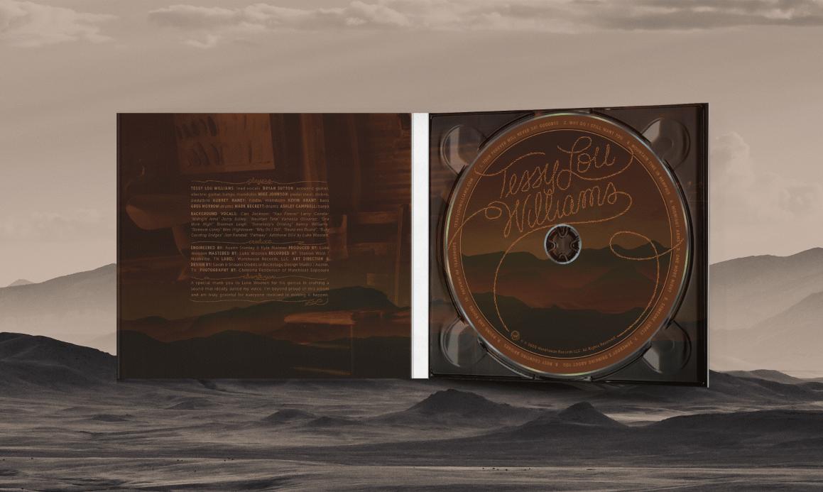 Tessy Lou Williams CD (2020)