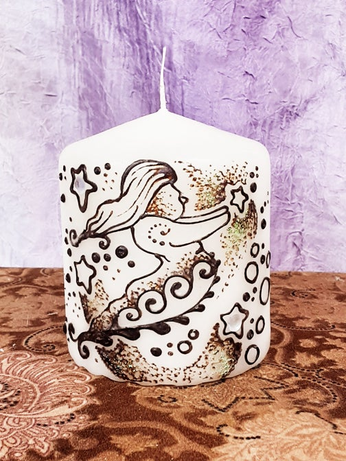 Image of 3 x 3  Lady Stardust Henna Candle