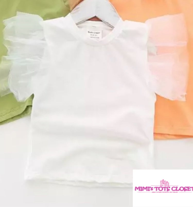 Image of White Tutu Top