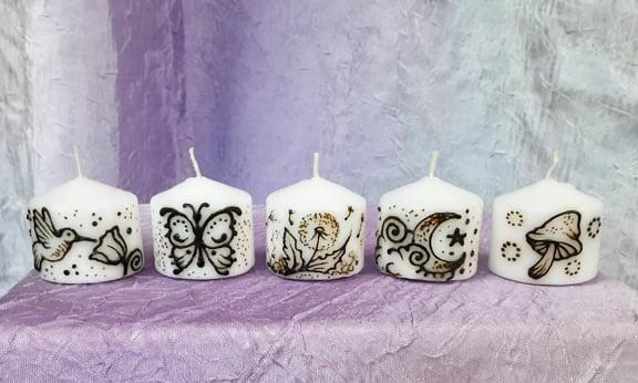 Image of Magic Nature Mini candle Set