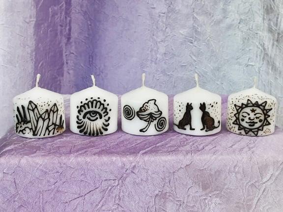 Image of Psychic Mini candle Set
