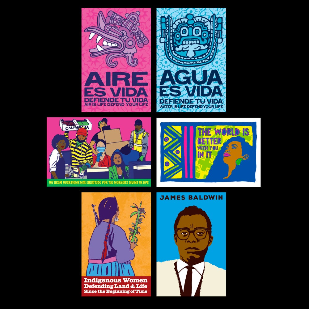 Image of Dignidad Rebelde Postcard Set (6 cards)