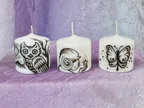 Image of Enchanting Mini Candle Set