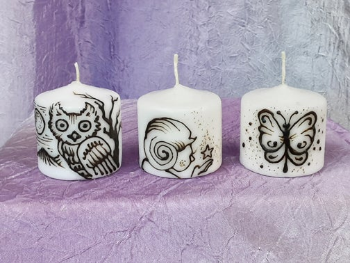 Image of Enchanting Mini Candle Set