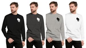 Wiskullsin Fleece Crew Pullover Unisex