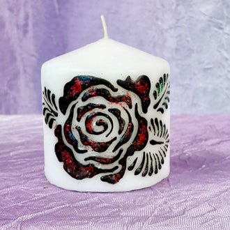 Image of Small Rose Henna Candle