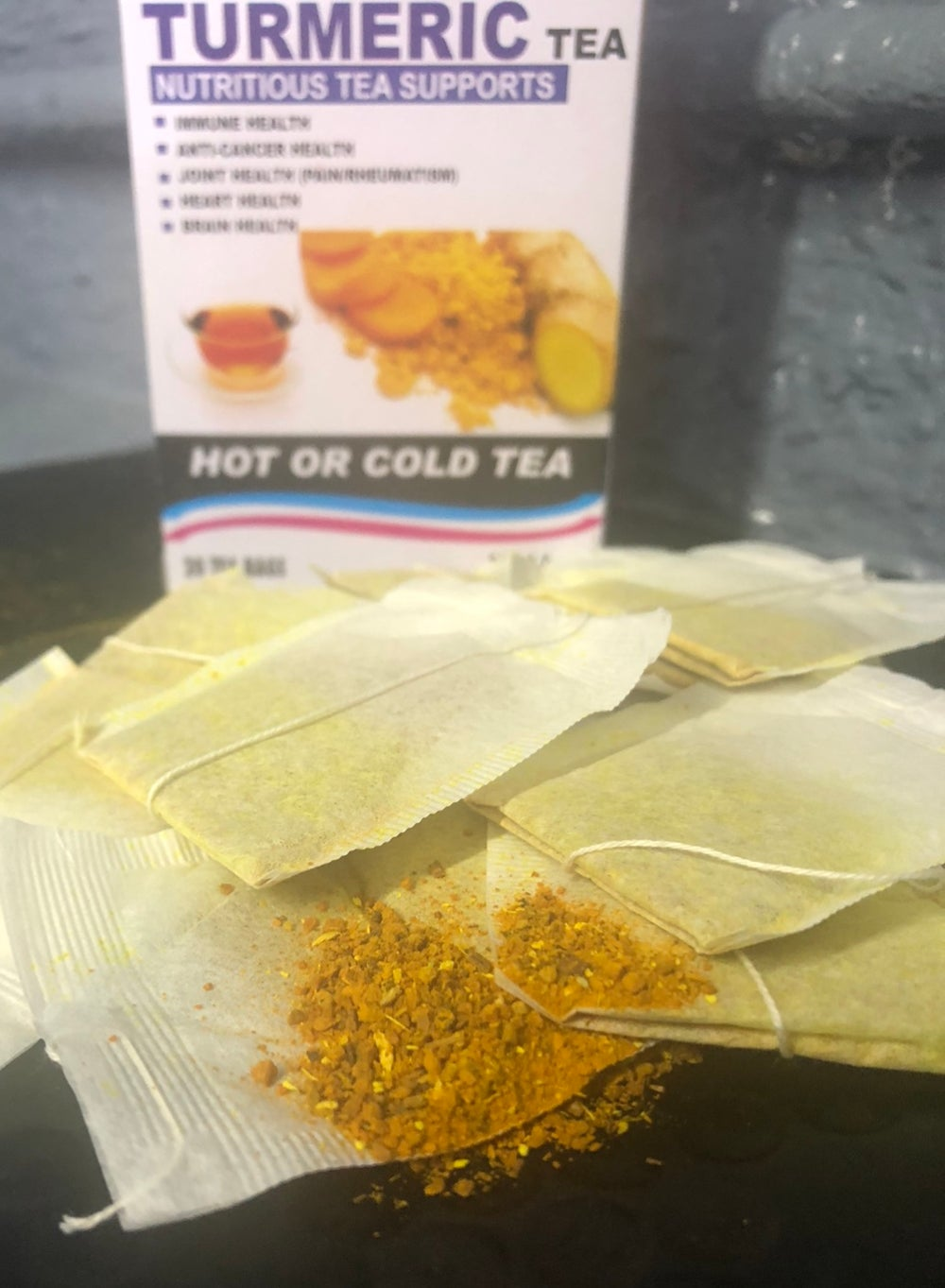 Image of Tumeric all natural tea