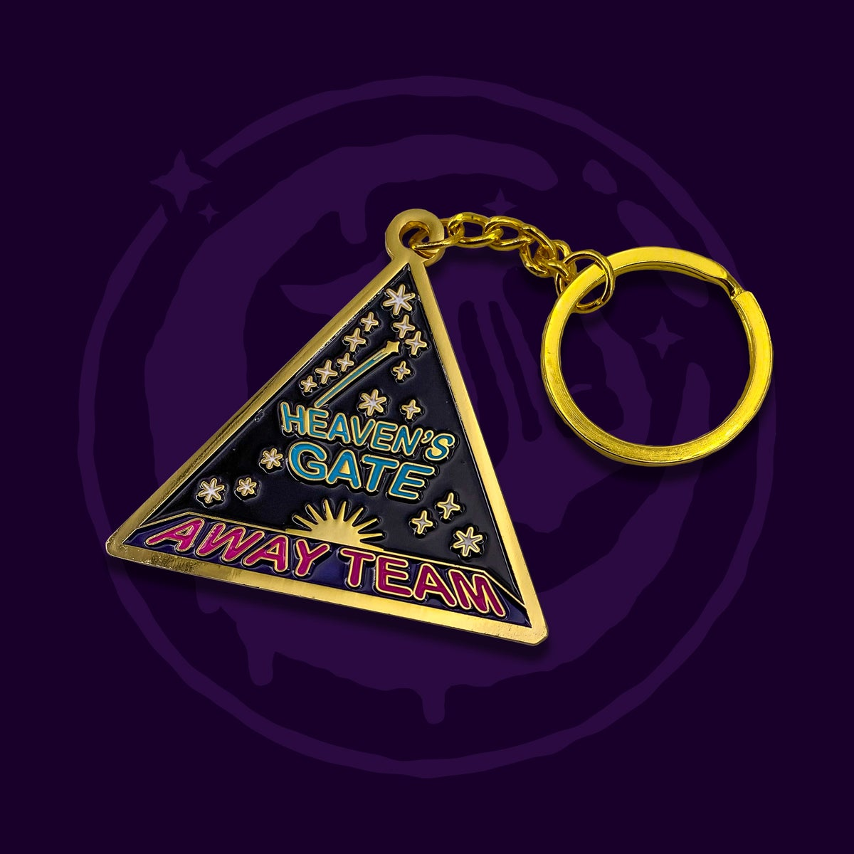 Image of Away Team Keychain
