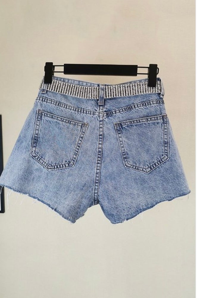 Image of Diva Denim Shorts
