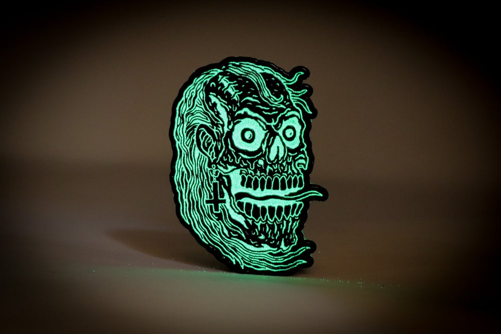 Image of Will Carsola - Creeper Enamel Pin