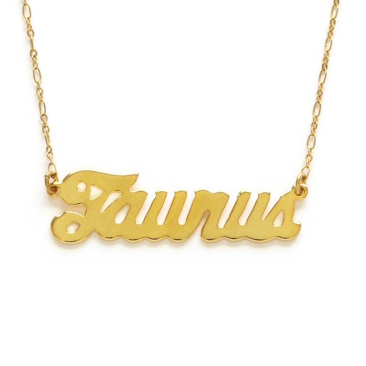 Image of Amano Taurus Zodiac Chain Necklace