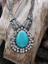 Fatima Crystal Necklace