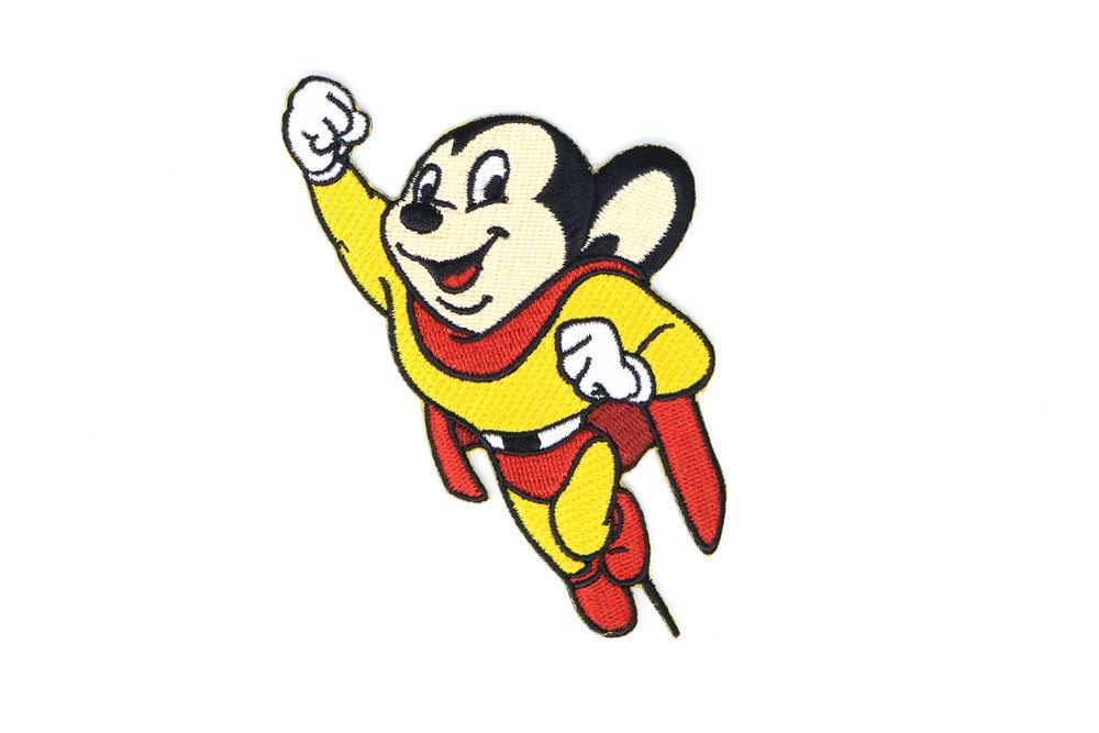 Image of Mighty Mouse - Classic Mighty Mouse Patch
