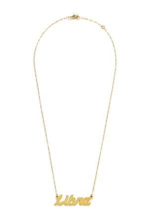 Image of Amano Libra Zodiac Chain Necklace