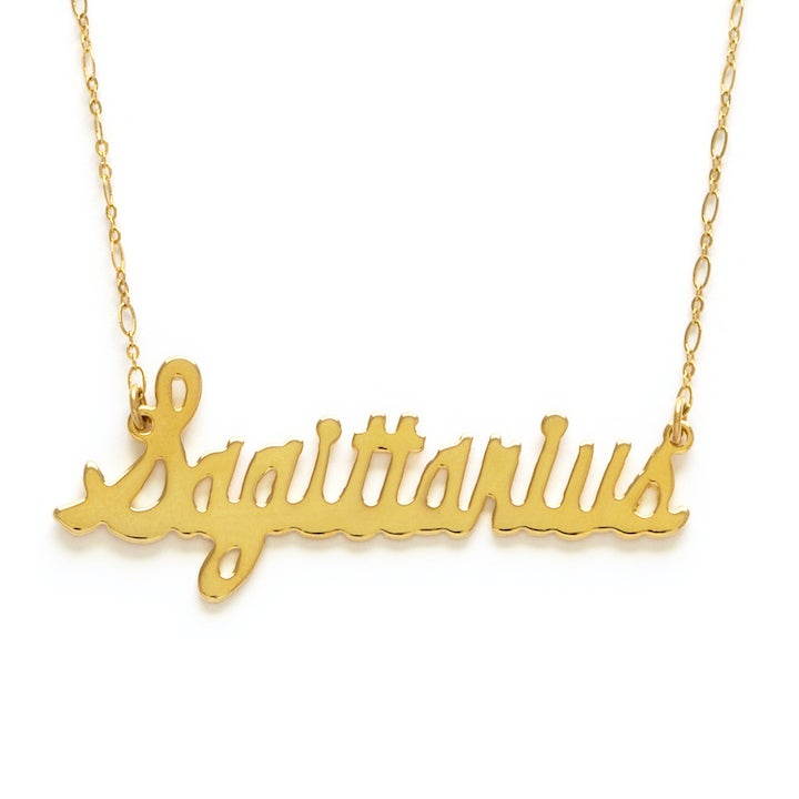 Image of Amano Sagittarius Zodiac Chain Necklace