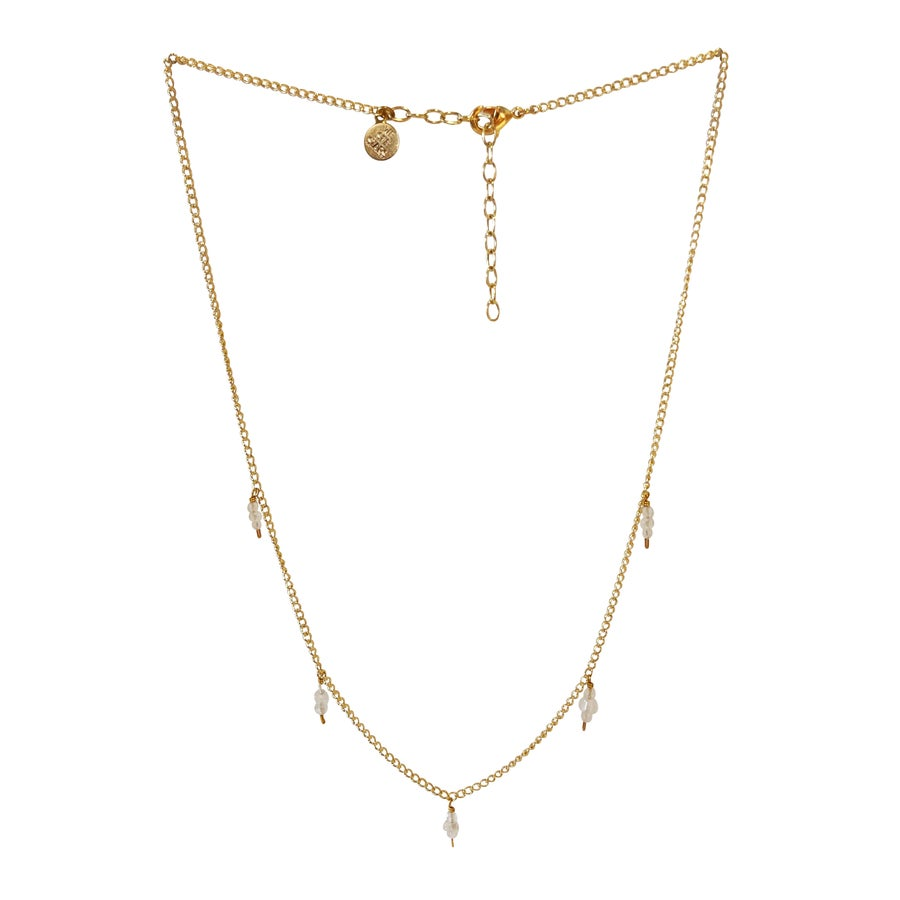 Image of Moonstone Station Necklace
