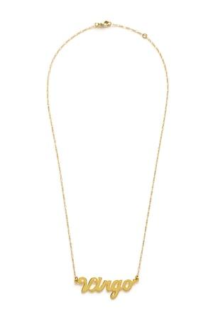 Image of Amano Virgo Zodiac Chain Necklace