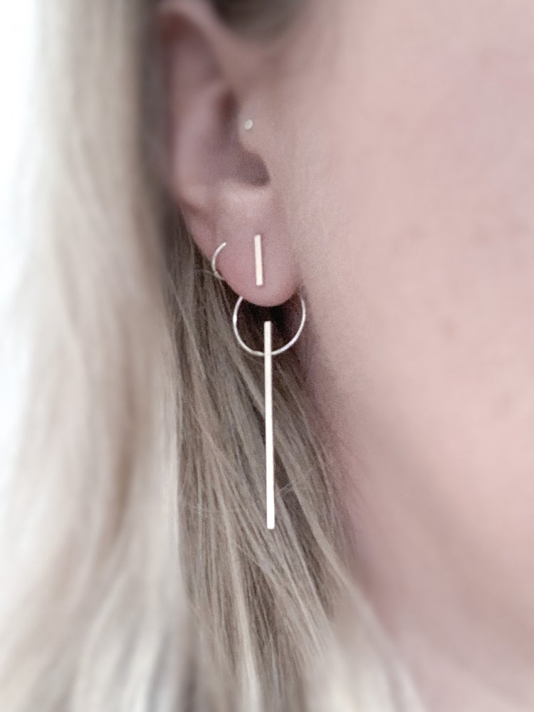 Image of Spindle and Wheel Earrings