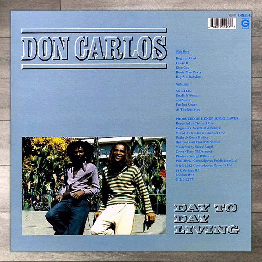 Image of Don Carlos - Day to Day Living Vinyl LP