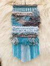 Blue Moon Woven Wall Hanging