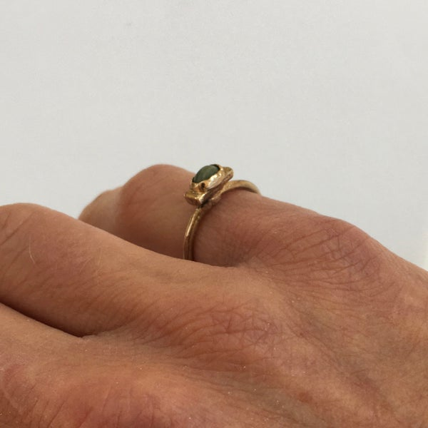 Image of Pebble Ring in Bronze small
