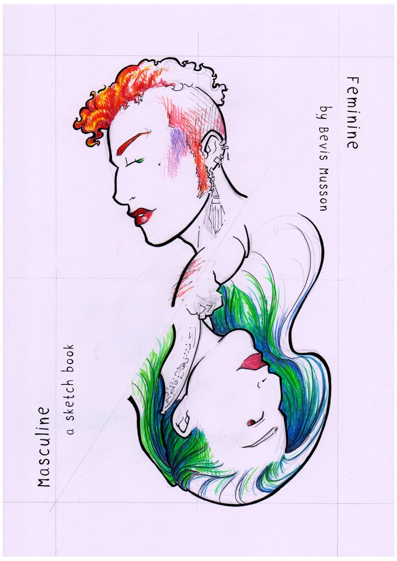 Image of Masculine/Feminine: a sketch book (digital copy)