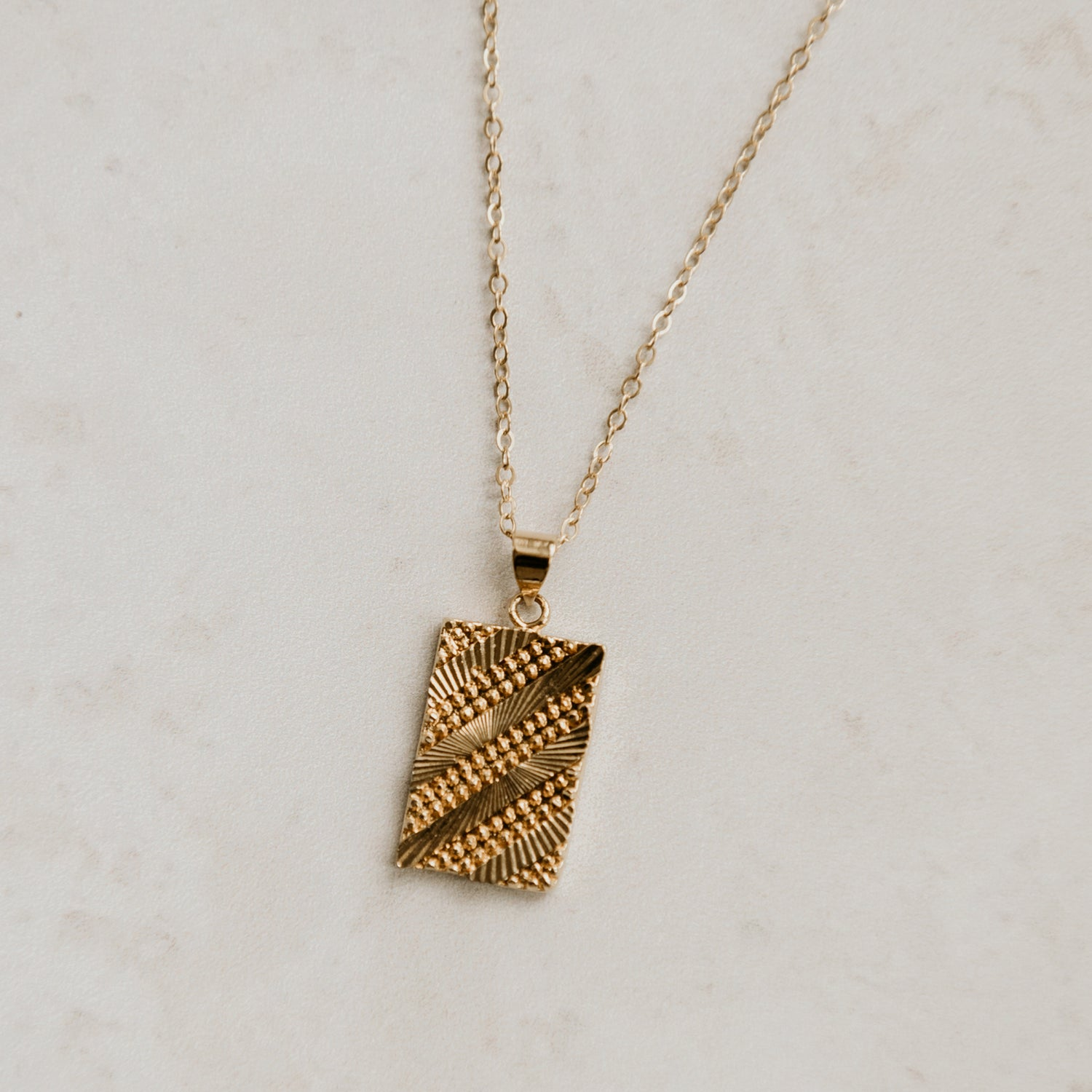 Image of Gold Bar Necklace