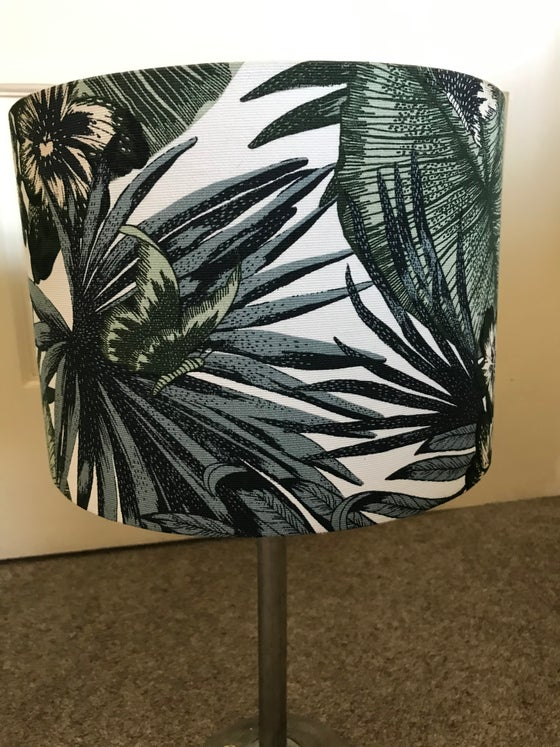 Image of Lampshades - two styles - Botanic Print Lampshade