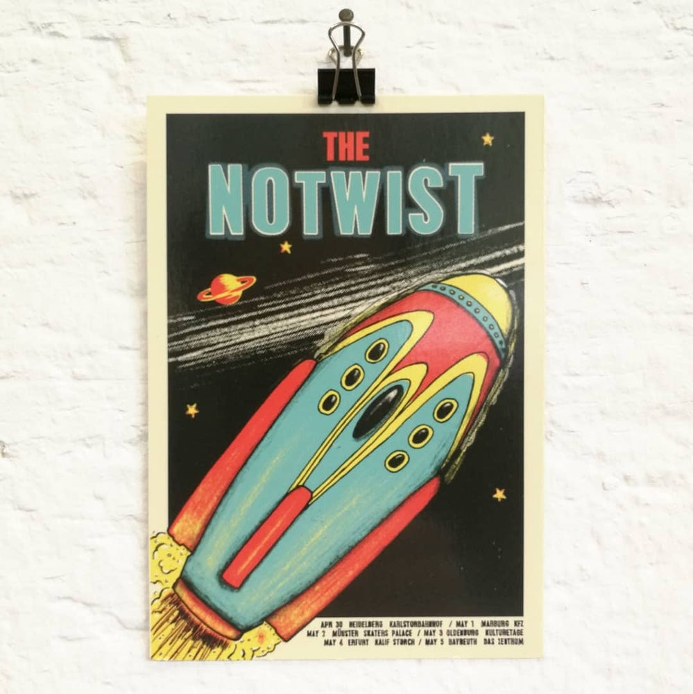 Image of Postcards - THE SOLD OUT GIG POSTERS (#07-#08)