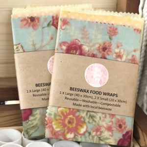 Image of Beeswax Food Wraps - Thick and Sticky