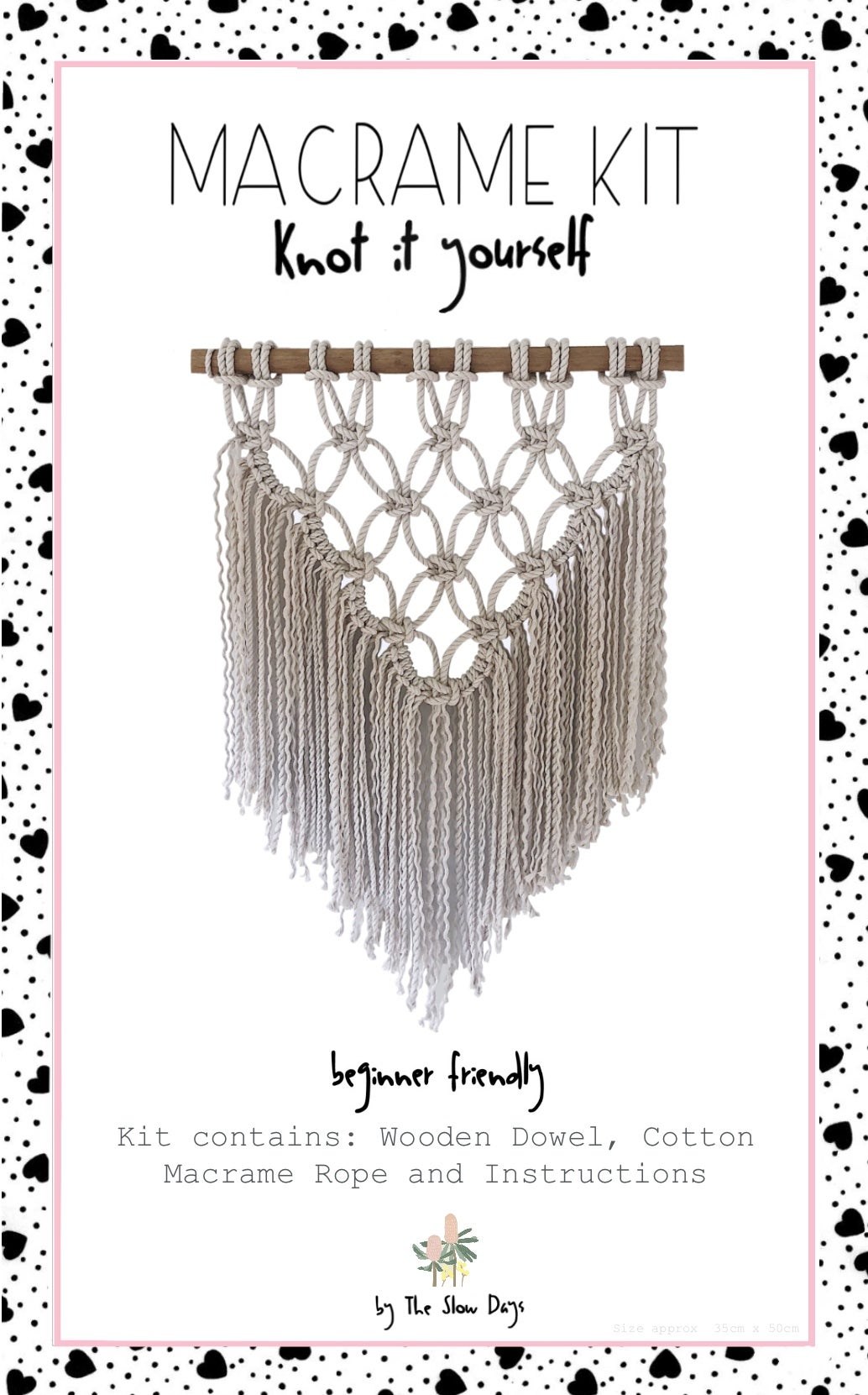Image of Wall Hanging Macrame Kit