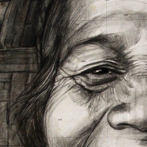 "Image of Canva Art Print - ""Coco Wayan"""