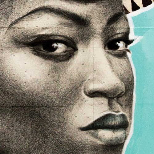 "Image of Paper Art Print - ""Trinidad en couleur"""