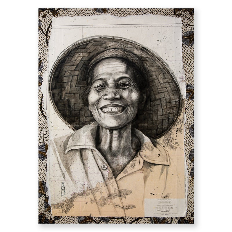 "Image of Paper Art Print - ""Coco Wayan"""