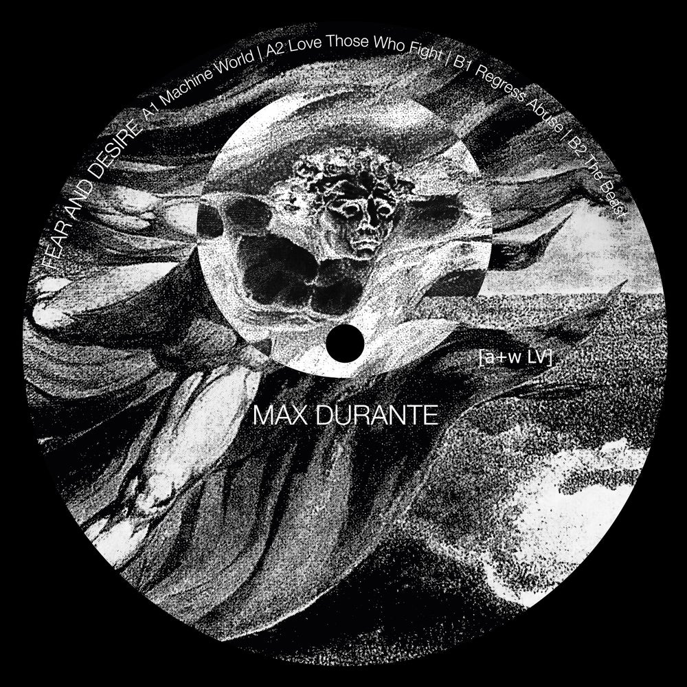 Image of [a+w LV] Max Durante - Fear And Desire 12""