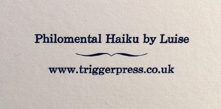 Image of Possibility Haiku greeting card