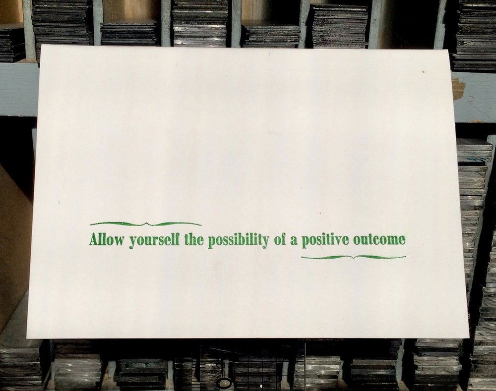 Image of Possibility Haiku greeting card