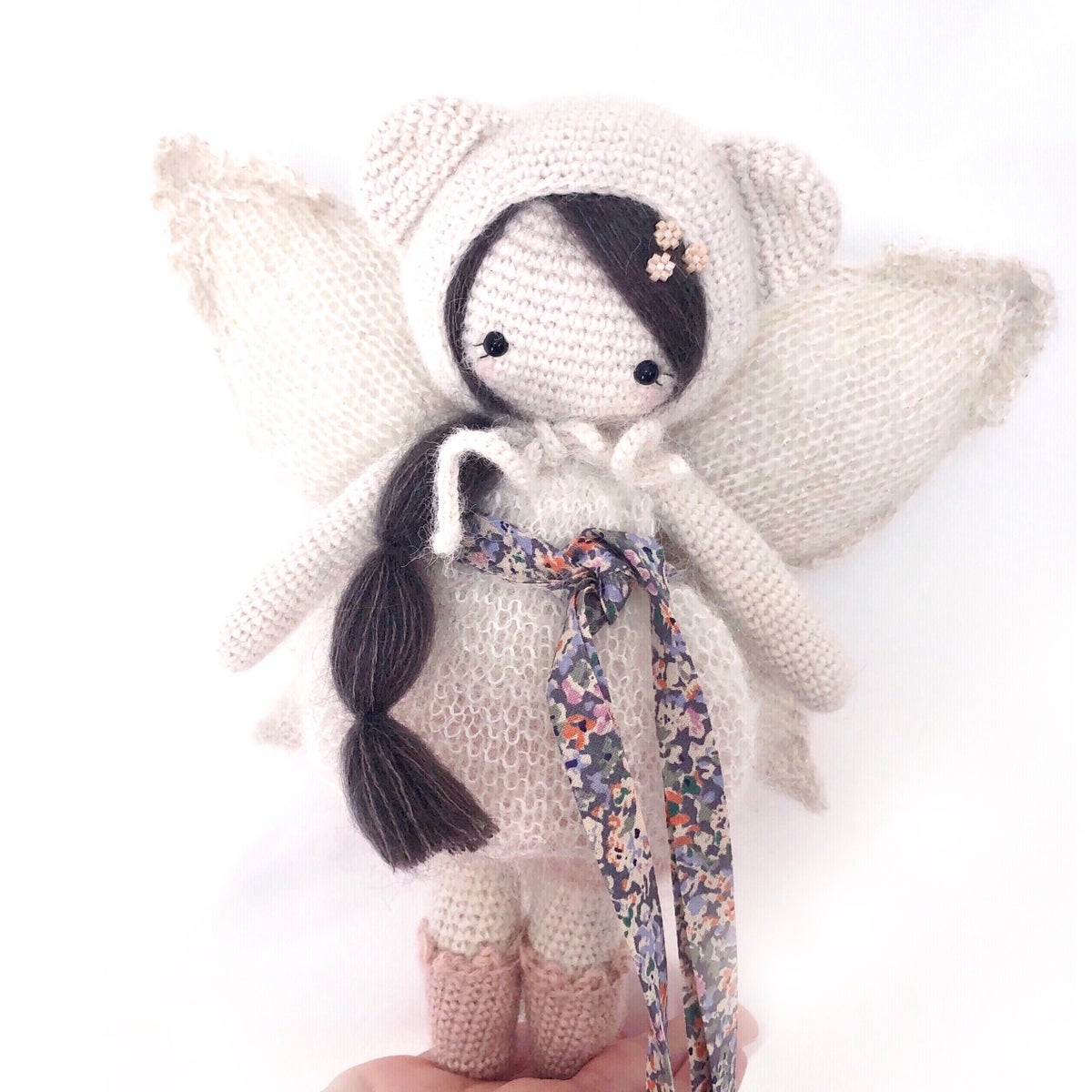 Image of Miss Pom' #033 et sa parure petites ailes