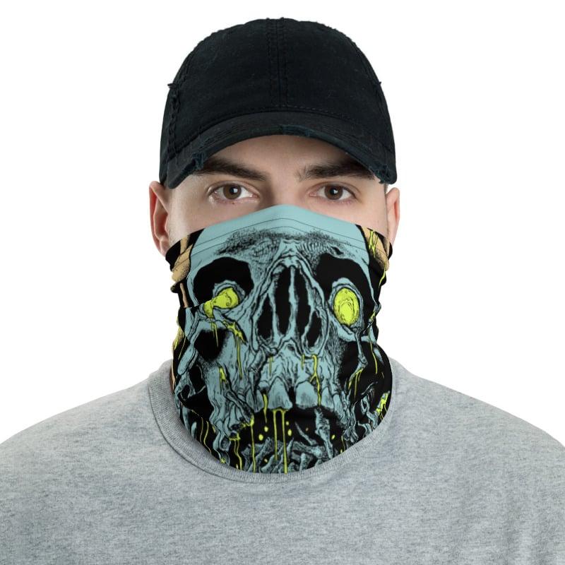 Image of Blue Skull Gaiter