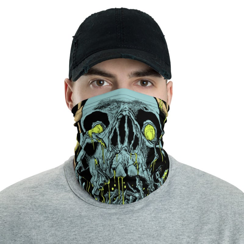 Image of Blue Skull Gaiter