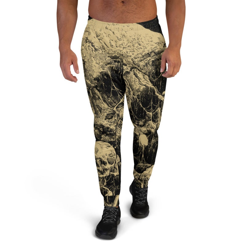 Image of Men's All-Over Print Graveyard Joggers