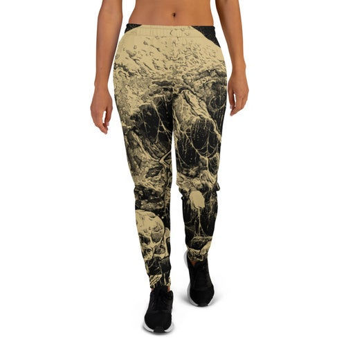 Image of Women's All-Over Print Graveyard Joggers
