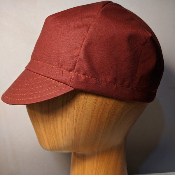 Image of Waxed Cotton Cycling Cap - British Millerain Sahara Staywax