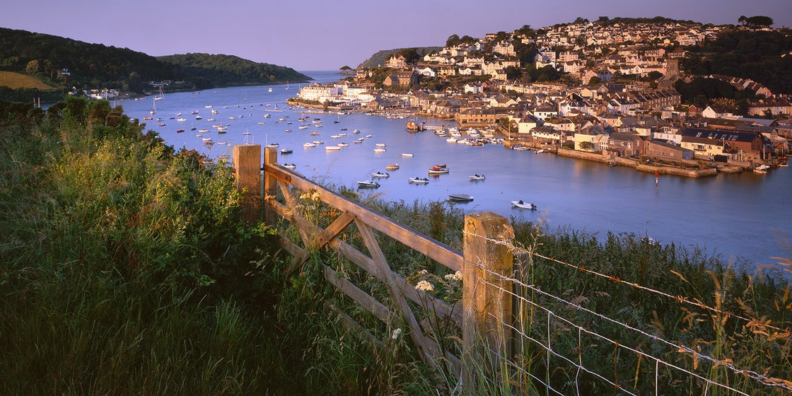 Image of Salcombe from Snapes Point