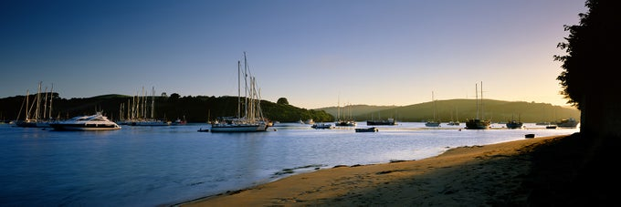 Image of Salcombe Estuary Sunrise